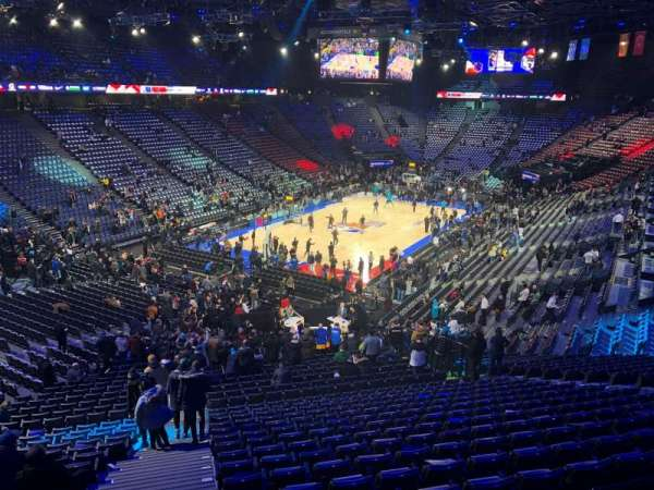 AccorHotels Arena, Abschnitt: Balcon B
