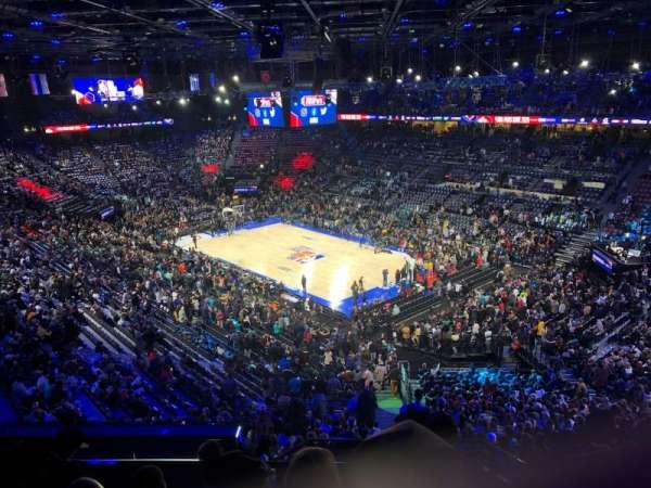 AccorHotels Arena, Abschnitt: Balcon S, Reihe: 89, Platz: 16