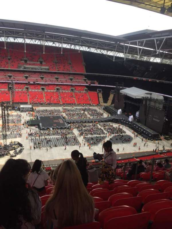 Wembley Stadium, Abschnitt: 501, Reihe: 25, Platz: 23