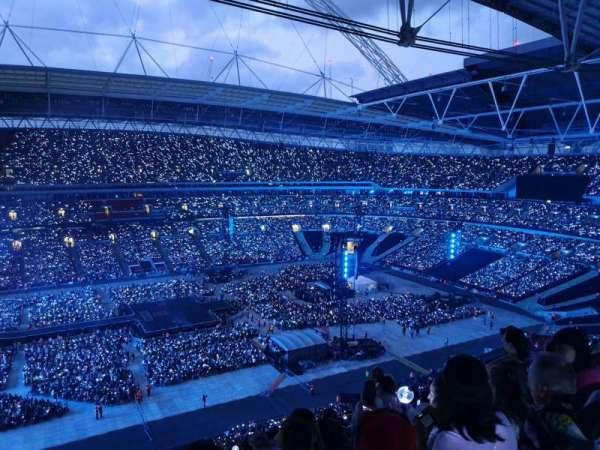 Wembley Stadium, Abschnitt: 528, Reihe: 16, Platz: 54