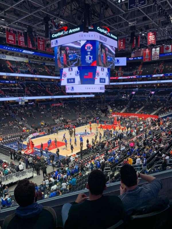 Capital One Arena, Abschnitt: 226, Reihe: C, Platz: 4