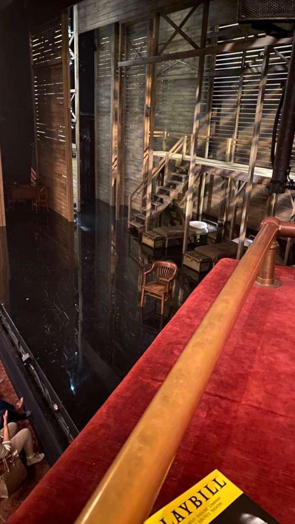 American Airlines Theatre, Bereich: Right Box, Reihe: RB, Platz: 2