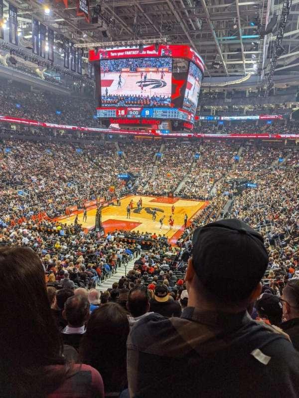 Scotiabank Arena, Abschnitt: 112, Reihe: 26, Platz: 15