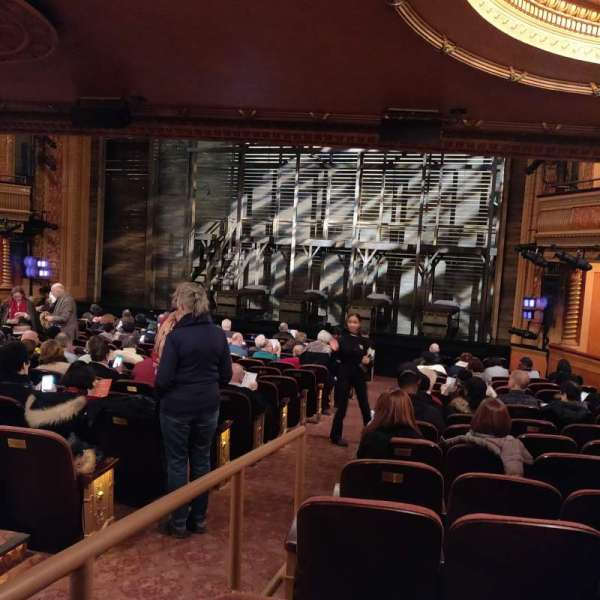 American Airlines Theatre, Bereich: Orchestra R, Reihe: P, Platz: 2