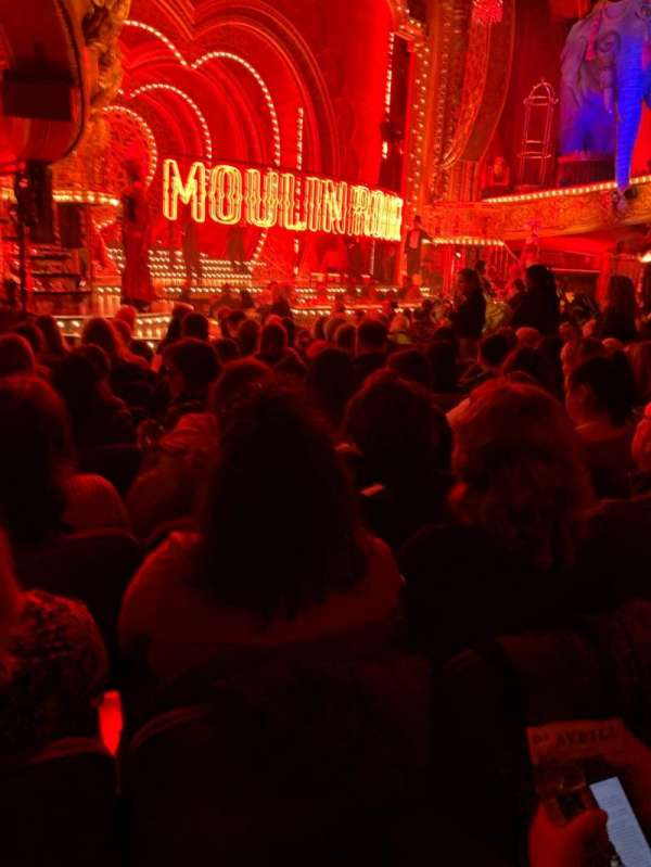 Al Hirschfeld Theatre, Abschnitt: Orchestra L, Reihe: O, Platz: 25