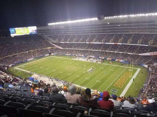 Soldier Field, Abschnitt: 431, Reihe: 12, Platz: 14-16
