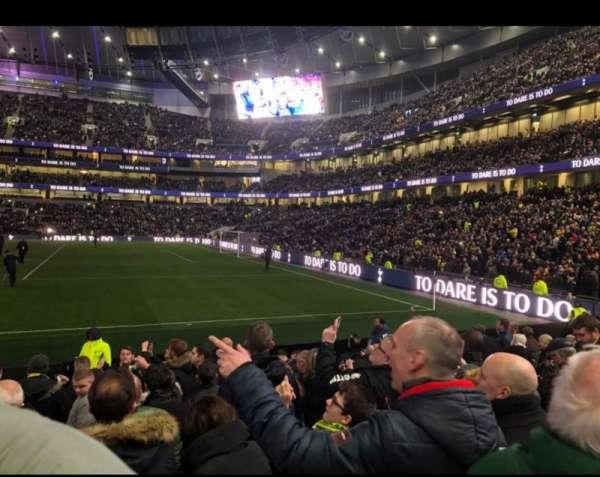 Tottenham Hotspur Stadium, Abschnitt: 118, Reihe: 11