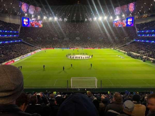 Tottenham Hotspur Stadium, Abschnitt: 420, Reihe: 11, Platz: 375