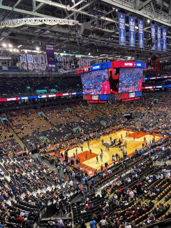 Scotiabank Arena, Abschnitt: 324, Reihe: 3, Platz: 11