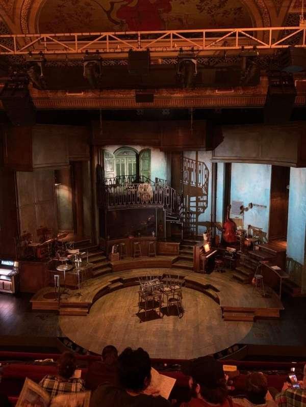 Walter Kerr Theatre, Abschnitt: Mezzanine C, Reihe: F, Platz: 104