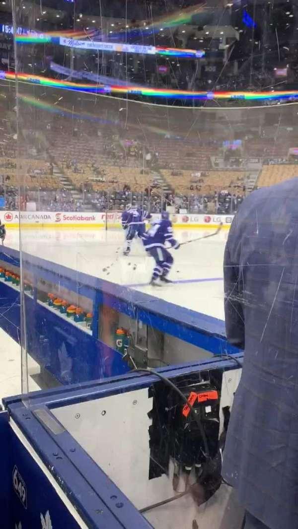 Scotiabank Arena, Abschnitt: Bench, Reihe: 1, Platz: W
