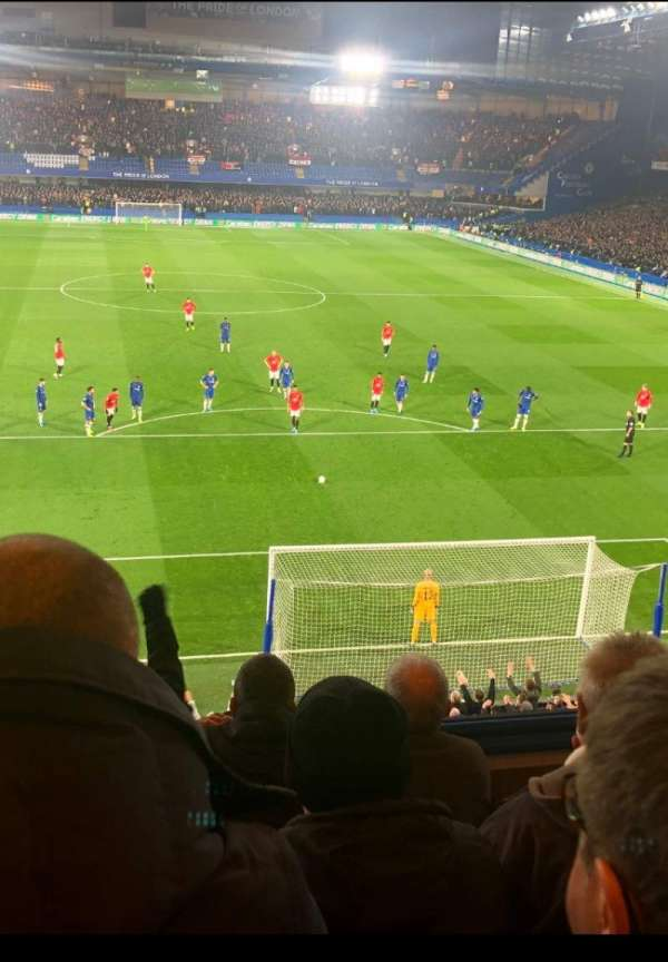 Stamford Bridge, Abschnitt: Matthew Harding Upper, Reihe: D