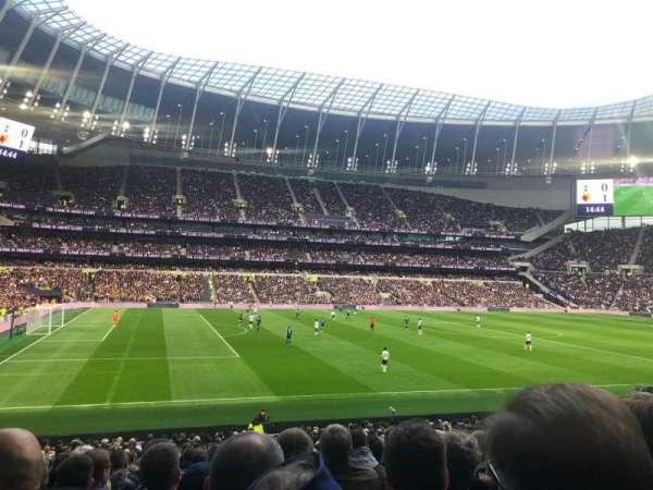 Tottenham Hotspur Stadium, Abschnitt: 108, Reihe: 27, Platz: 210