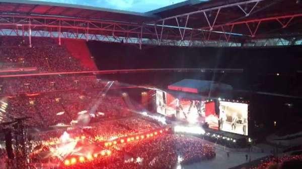 Wembley Stadium, Abschnitt: 502, Reihe: 14, Platz: 68