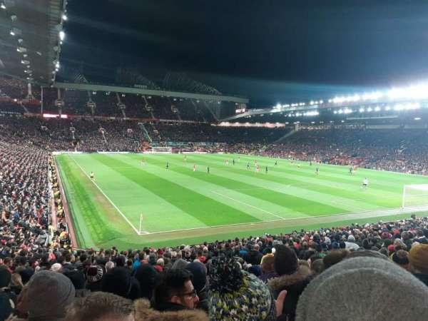 Old Trafford, Abschnitt: W202, Reihe: 12, Platz: 276