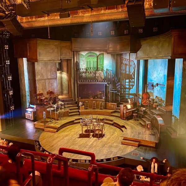 Walter Kerr Theatre, Abschnitt: Mezzanine R, Reihe: D, Platz: 2