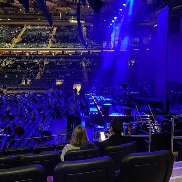 Madison Square Garden, Abschnitt: 108, Reihe: D, Platz: 20