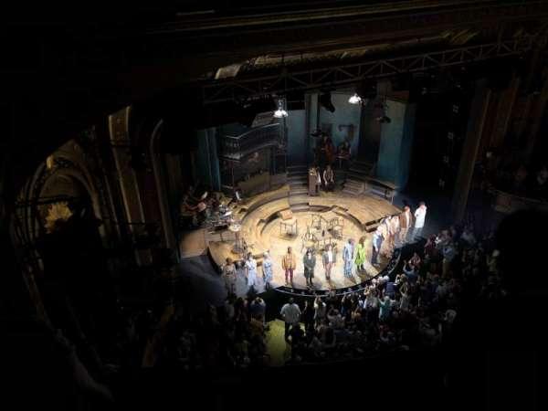 Walter Kerr Theatre, Abschnitt: Balcony L, Reihe: B