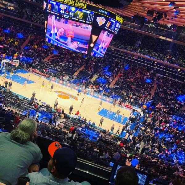Madison Square Garden, Abschnitt: 225, Reihe: 4, Platz: 22