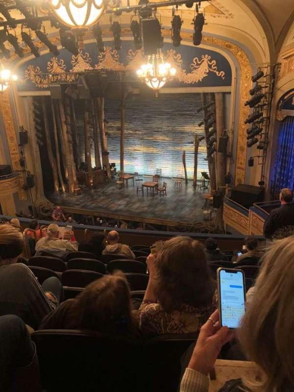 Gerald Schoenfeld Theatre, Abschnitt: Mezzanine R, Reihe: K, Platz: 16