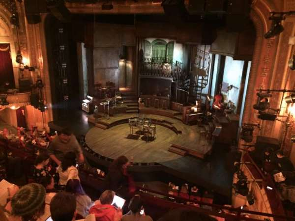 Walter Kerr Theatre, Abschnitt: Mezzanine R, Reihe: F, Platz: 20