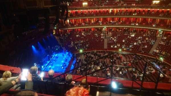 Royal Albert Hall, Bereich: Circle Q, Reihe: 4, Platz: 29