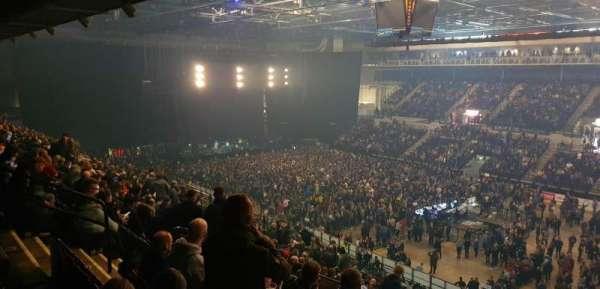 Sheffield Arena, Bereich: 207, Reihe: S, Platz: 12