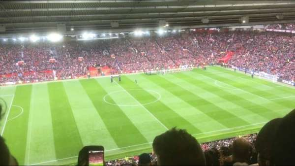Old Trafford, Abschnitt: N3403, Reihe: 30, Platz: 173