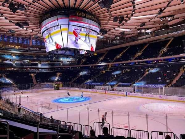 Madison Square Garden, Bereich: 120, Reihe: 12, Platz: 6