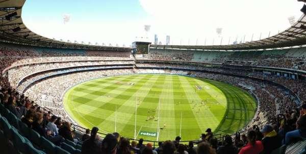 Melbourne Cricket Ground, Bereich: Q3, Reihe: J, Platz: 4