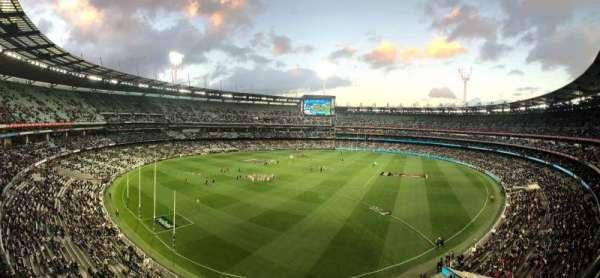 Melbourne Cricket Ground, Bereich: Q29, Reihe: A, Platz: 5