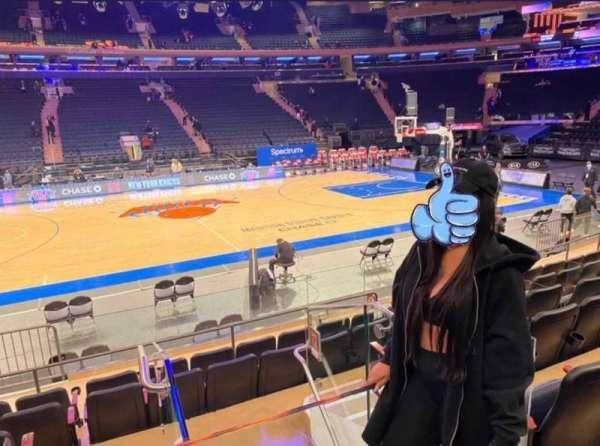 Madison Square Garden, Bereich: 117, Reihe: 6, Platz: 1