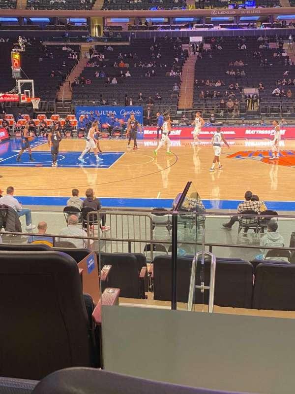 Madison Square Garden, Bereich: 117, Reihe: 7, Platz: 2
