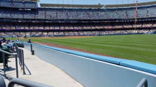 Dodger Stadium, Bereich: 46FD, Reihe: A, Platz: 14