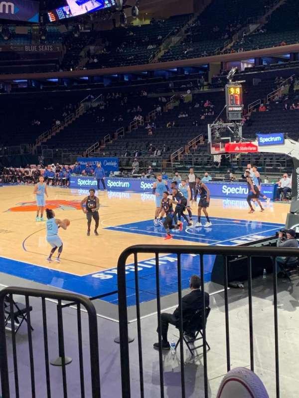 Madison Square Garden, Bereich: 120, Reihe: 6, Platz: 1