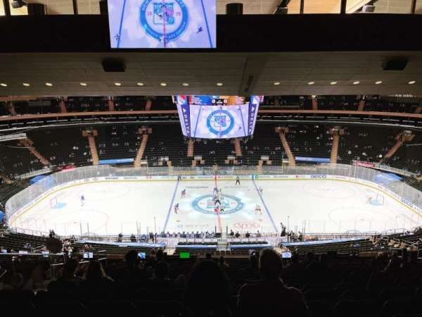 Madison Square Garden, Bereich: 211, Reihe: 18, Platz: 8