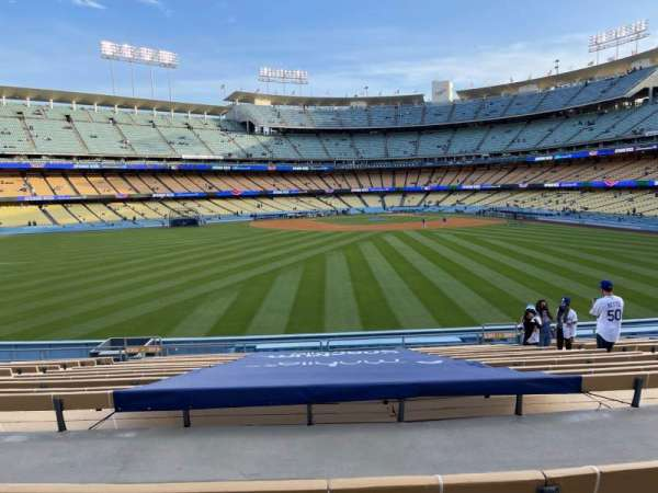 Dodger Stadium, Bereich: 311PL, Reihe: P, Platz: 7