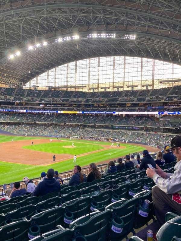American Family Field, Bereich: 228, Reihe: 8, Platz: 20