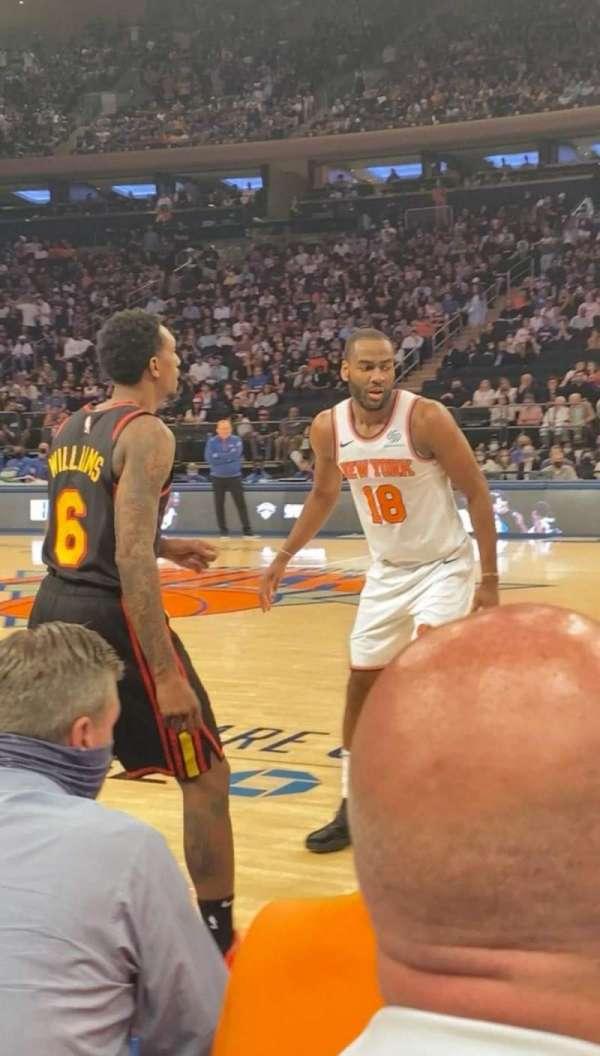 Madison Square Garden, Bereich: 12, Reihe: 2, Platz: 3