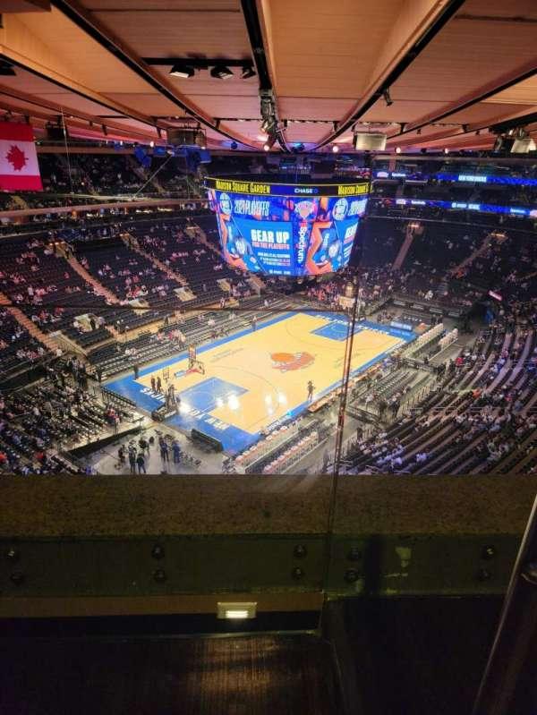 Madison Square Garden, Bereich: 309, Reihe: 2, Platz: 6