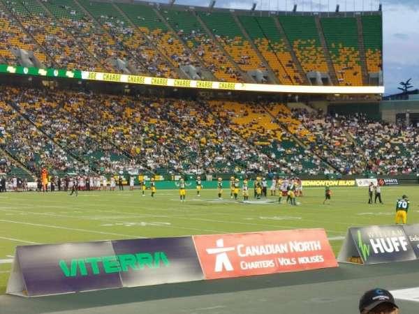 Commonwealth Stadium (Edmonton), Bereich: L, Reihe: 3, Platz: 4