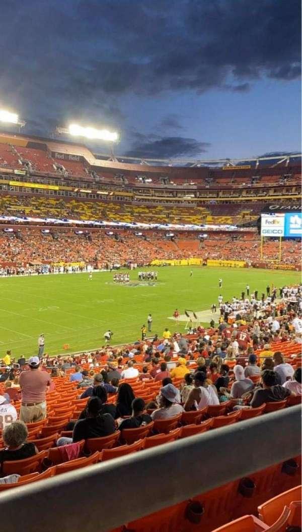 FedEx Field, Bereich: 226, Reihe: 1, Platz: 15