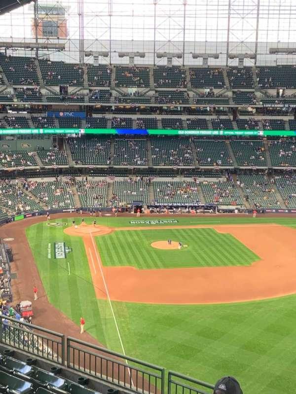 American Family Field, Bereich: 405, Reihe: 7, Platz: 16