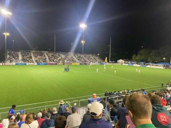 Dillon Stadium, Bereich: 3, Reihe: P, Platz: 13
