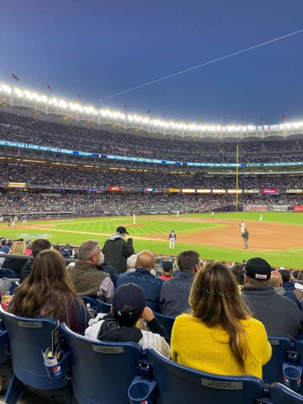 Yankee Stadium, Abschnitt: 114a, Reihe: 9, Platz: 9