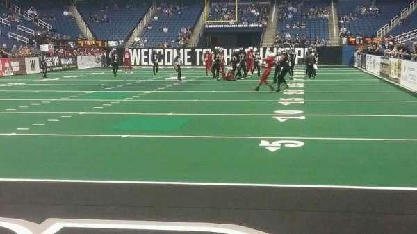 Greensboro Coliseum, Abschnitt: 118, Reihe: AA, Platz: 5