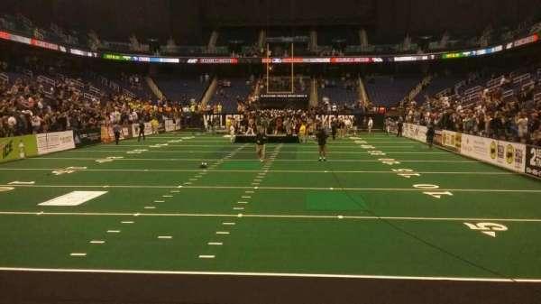 Greensboro Coliseum, Abschnitt: 117, Reihe: AA, Platz: 14