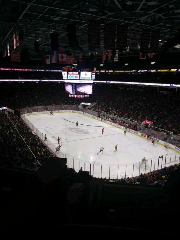 PNC Arena, Abschnitt: 214, Reihe: E, Platz: 12