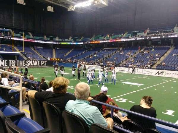 Greensboro Coliseum, Abschnitt: 111, Reihe: CC, Platz: 6