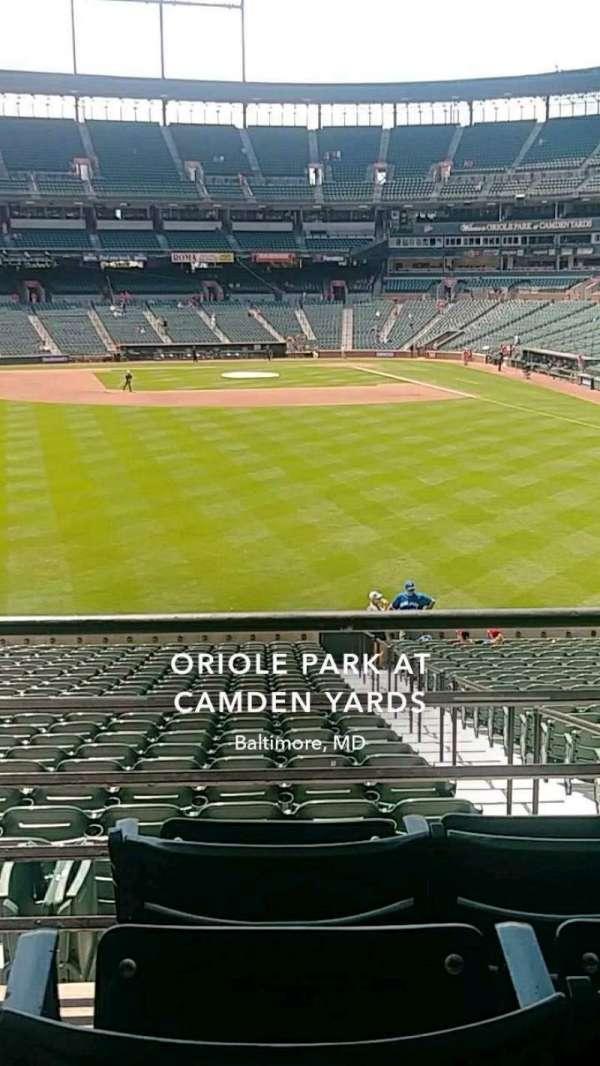 Oriole Park at Camden Yards, Abschnitt: 83, Reihe: 4, Platz: 15